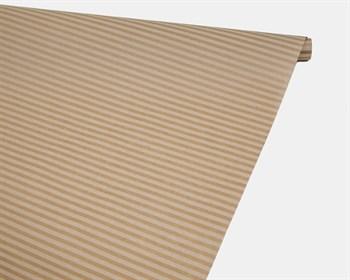 Бумага упаковочная, 40гр/м2, полосы белые, 72см х 10м, 1 рулон
