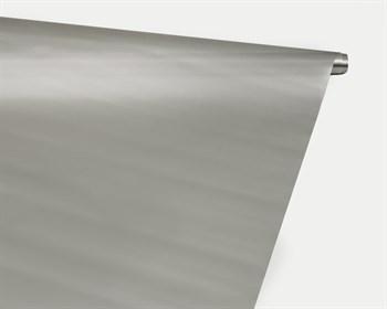 Пленка глянцевая, 72см х 7,5м, серебряная, 1 рулон