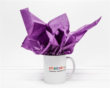 Бумага тишью, фиолетовая, 50х66 см