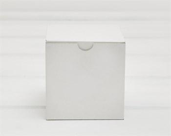 Коробка для посылок, 10х10х10 см, из плотного картона, белая