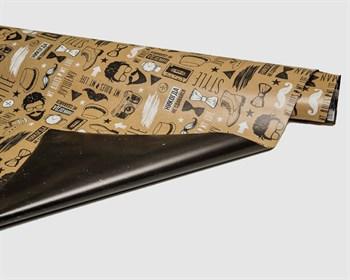 УЦЕНКА Бумага упаковочная, 70x100 см, «Брутальному мужчине», 1 лист