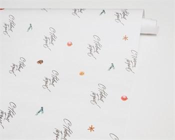 УЦЕНКА Бумага упаковочная, 70х100 см, «С Новым годом», 1 лист